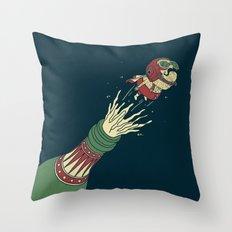 FANTASTIC BULLETCORK Throw Pillow