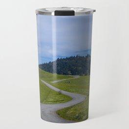 Onward we shall go. Travel Mug