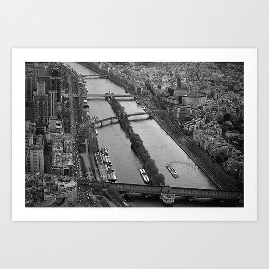 bridges to cross.. Art Print