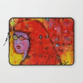 Red Hot Summer Girl Laptop Sleeve
