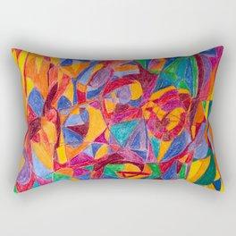 A Face of Contemplation Rectangular Pillow