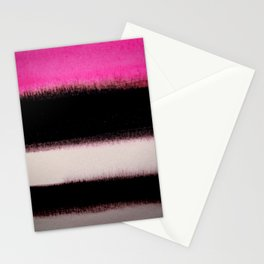 pink&black Stationery Cards