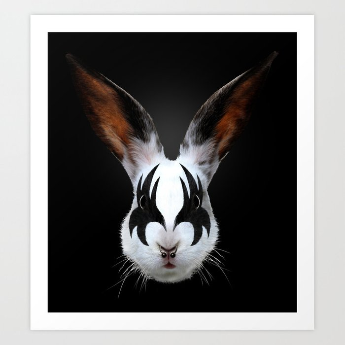 Discover the motif KISS OF A RABBIT by Robert Farkas as a print at TOPPOSTER