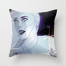 Galaxy Throw Pillow