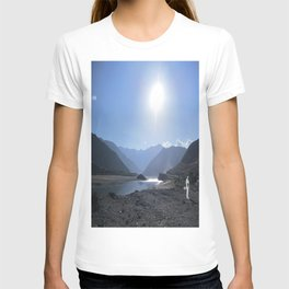 A Man In Nature T-shirt