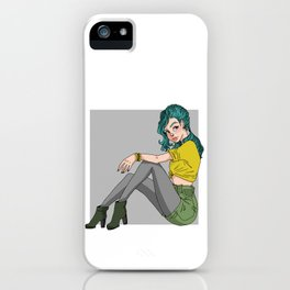 Grunge Chic iPhone Case