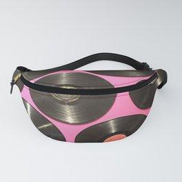 Pink Vinyl Fanny Pack