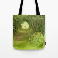 best friends Tote Bags featuring Best Friends by CreativeByDesign