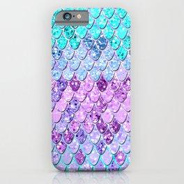 Mermaid Scales with Unicorn Girls Glitter #9 #shiny #decor #art #society6 iPhone Case