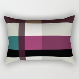 Chocolate Fudge and Berries Rectangular Pillow