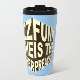 Jazz Funk Cube Travel Mug