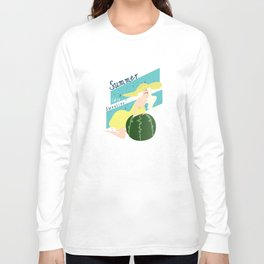 Summer Sweeties: Watermelons  Long Sleeve T-shirt
