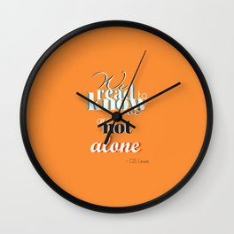 CS Lewis - Read Wall Clock