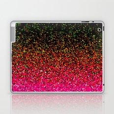 Confetti Glitter Sparkle Splatter Pink Orange Yellow Laptop & iPad Skin