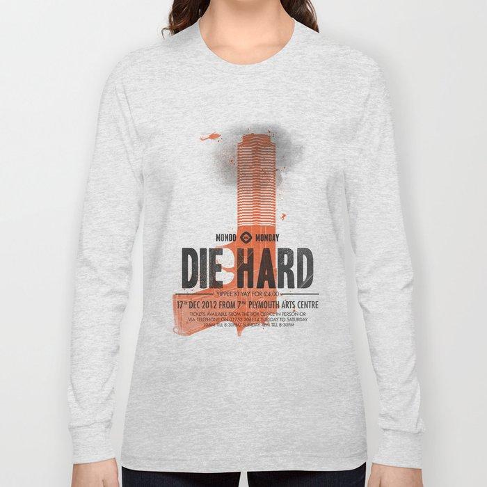 Die Hard (Full poster variant) Long Sleeve T-shirt