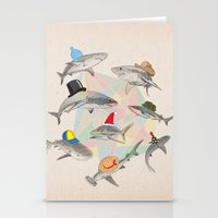 hats Stationery Cards featuring Hats On by Chaopi Lin