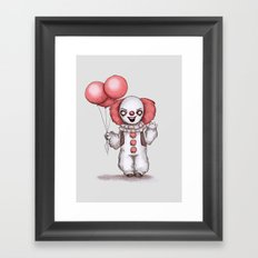They All Float Down Here Framed Art Print