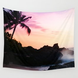 Paako Beach Sunset Jewels Wall Tapestry