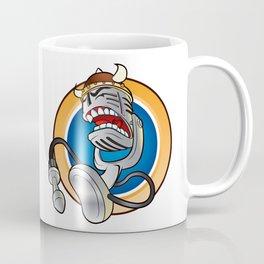 Cartoon vintage microphone Coffee Mug
