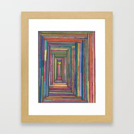 jks arts Framed Art Print