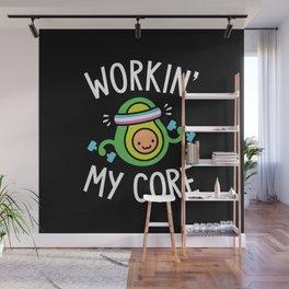 Workin' My Core Wall Mural