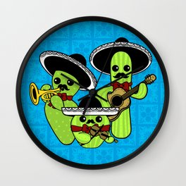Los Nopalitos Wall Clock