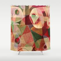 rio Shower Curtains featuring Rio Doce by Fernando Vieira