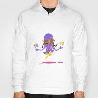 super hero Hoodies featuring Super Hero 3 by La Lanterne