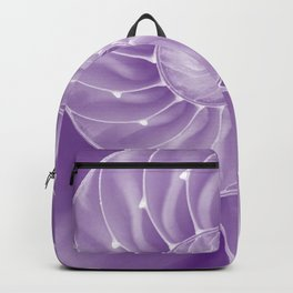Ultra Violet Chambered Nautilus Backpack