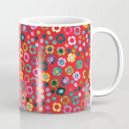 dp065-5 floral pattern Coffee Mug