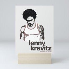 Lenny Kravitz - Portrait II Mini Art Print