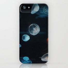 Jellyfish Cells (Color) iPhone Case