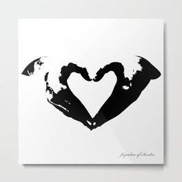 La voix du coeur | 心臟的聲音 Metal Print