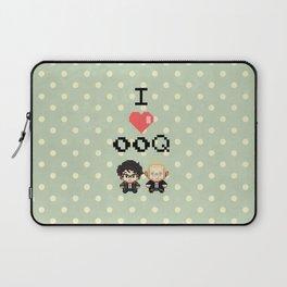 I love 00Q: Dots Laptop Sleeve