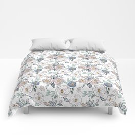 Indy Bloom Design Periwinkle Rose Comforters