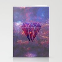 diamond Stationery Cards featuring Diamond by eARTh