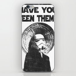 The Bucket Brigade: Search for Imperial Chin iPhone Skin