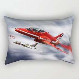 Farewell to XH558 Rectangular Pillow