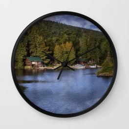 Copper Harbor, Michigan Wall Clock