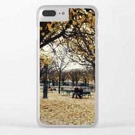 Secret Garden Notre Dame Clear iPhone Case