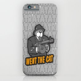 RATATATAT Went The Cat iPhone Case
