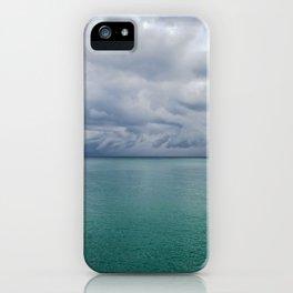 Sunny Thunderstorm iPhone Case