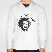 einstein Hoodies featuring Einstein by KaytiDesigns