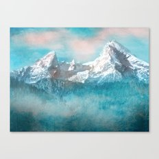 MOUNTAIN SCAPES   Watzmann Canvas Print
