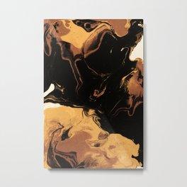 Caramel Metal Print