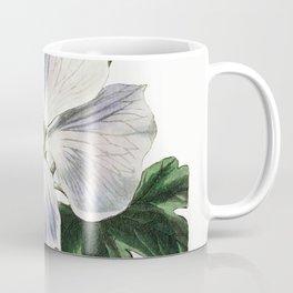 Mrs Wrays hibiscus from Edwardss Botanical Register (1829-1847) by Sydenham Edwards John Lindley and Coffee Mug