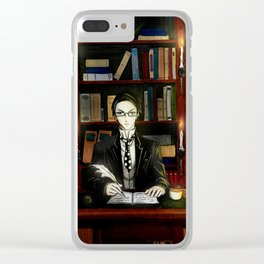 William T. Spears Clear iPhone Case