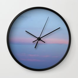 Rose line, island landscapes Wall Clock