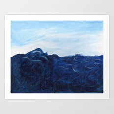 Sea Swell. Art Print