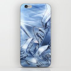 Mystique Blue iPhone & iPod Skin